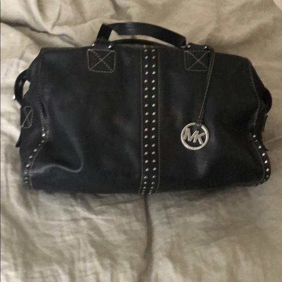 Rare Michael Kors Leather Studded Handbag
